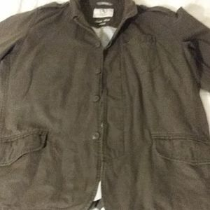 Aigle button front lined jacket XXL